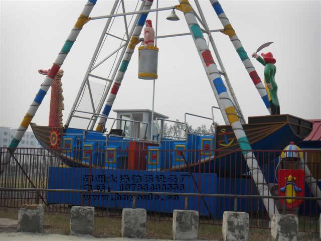 供应大洋游乐24座海盗船 儿童游乐场游乐设备惊险刺激大型海盗船示例图14