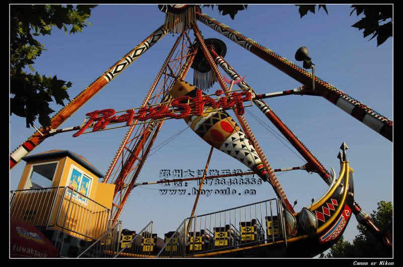 供应大洋游乐24座海盗船 儿童游乐场游乐设备惊险刺激大型海盗船示例图13