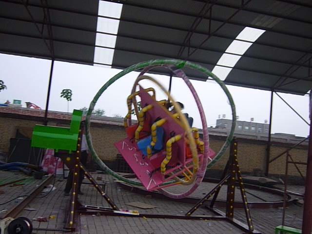2020销售火爆儿童游乐三维太空环 郑州大洋厂家直销三维太空环项目游艺设施设备示例图18