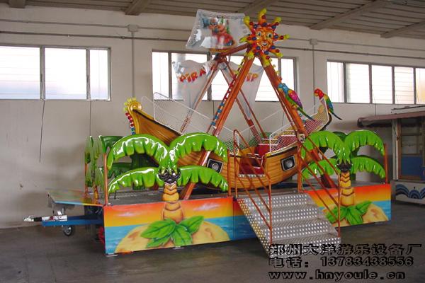 供应大洋游乐24座海盗船 儿童游乐场游乐设备惊险刺激大型海盗船示例图10