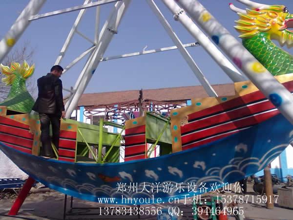 供应大洋游乐24座海盗船 儿童游乐场游乐设备惊险刺激大型海盗船示例图11