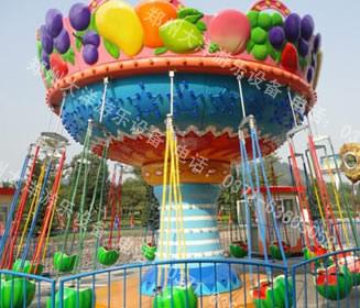 低价提供儿童游乐设备水果飞椅 厂家直销 郑州大洋火爆销售16座水果飞椅示例图7