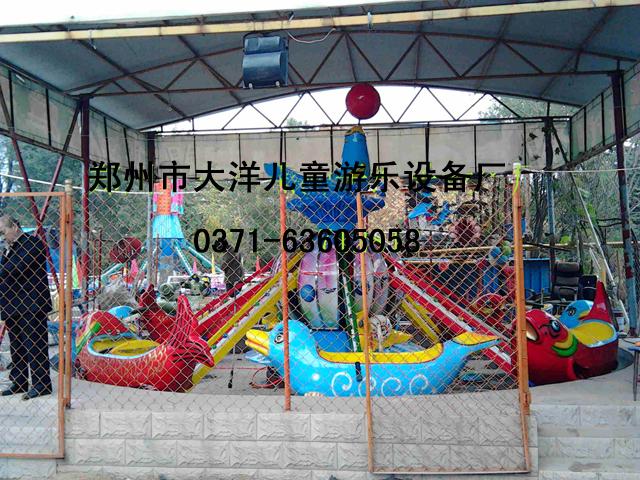 2020年6臂8臂海豚戏水_ 水上海豚戏水项目_郑州大洋旋转升降海豚戏水示例图18